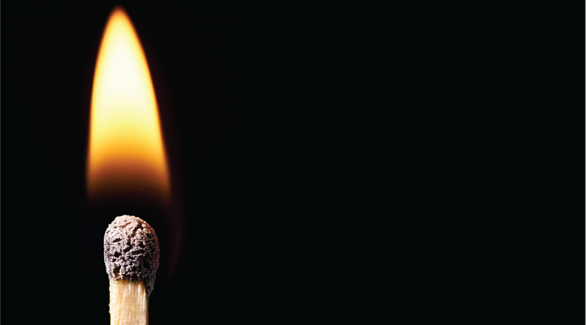 Lighting a match is an exothermic reaction