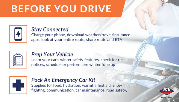 New driver tips before you drive in the snow