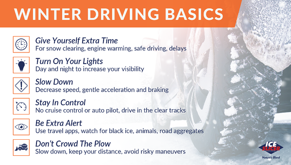 Winter driving tips for new drivers