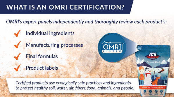 What does OMRI listed mean