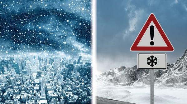 Urban vs. rural road snow maintenance