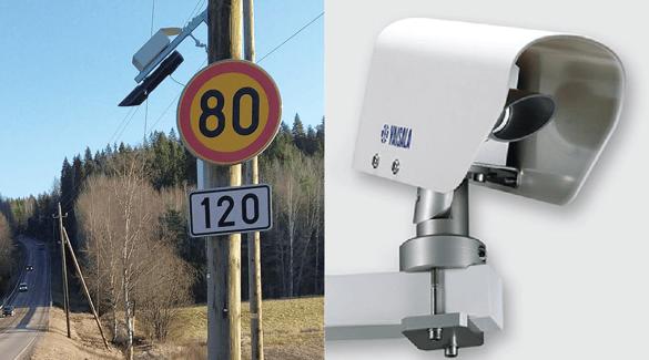 Teconer and Vaisala road sensors: Photos courtesy of teconer.fi and vaisala.com