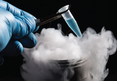 Vaccine stored at ultra cold temperatures